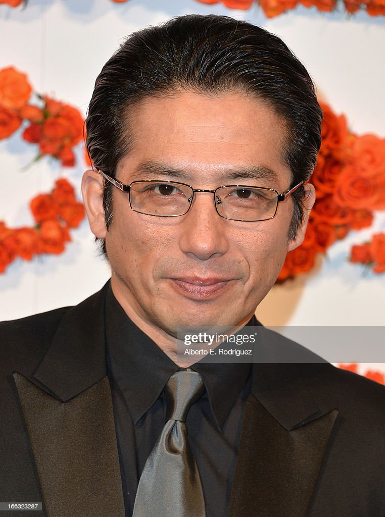 Actor Hiroyuki Sanada attends the 3rd Annual Coach Evening to benefit Children's Defense Fund at Bad Robot on April 10, 2013 in Santa Monica, California.