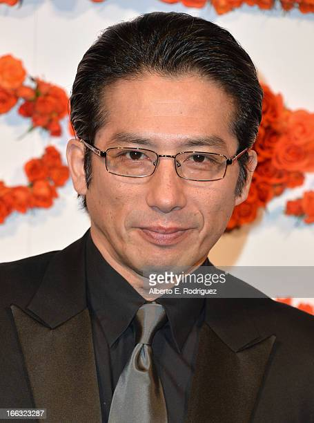 Actor Hiroyuki Sanada attends the 3rd Annual Coach Evening to benefit Children's Defense Fund at Bad Robot on April 10 2013 in Santa Monica California