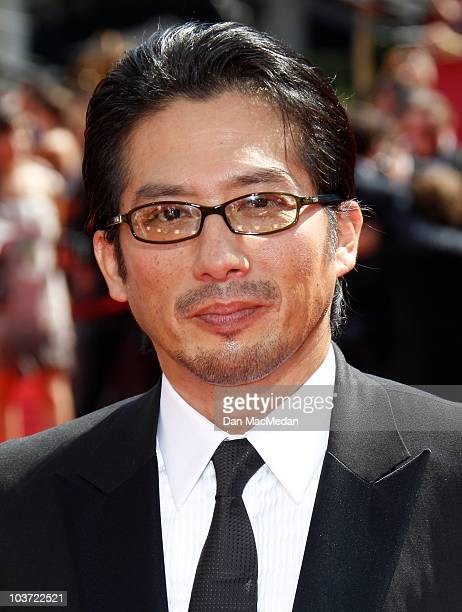 Actor Hiroyuki Sanada attends the 62nd Annual Primetime Emmy Awards at Nokia Theatre Live LA on August 29 2010 in Los Angeles California