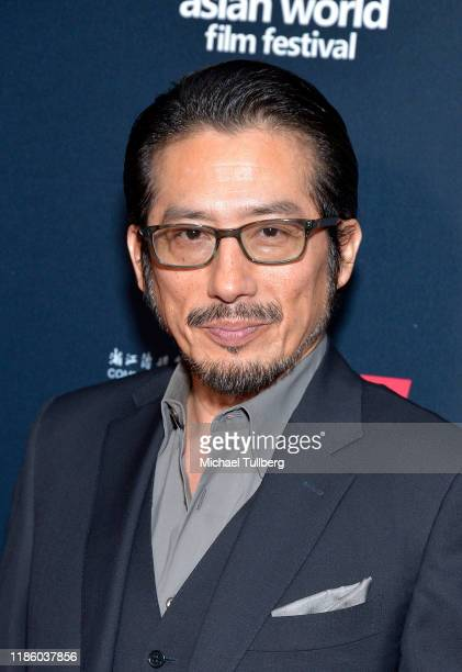Actor Hiroyuki Sanada attends the opening night premiere of Just Mercy at the 5th annual Asian World Film Festival at ArcLight Culver City on...
