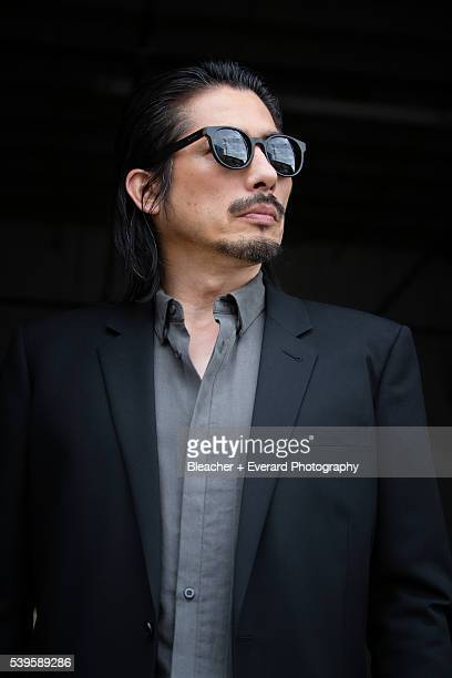 Actor Hiroyuki Sanada is photographed for August Man on May 5 2015 in New York City