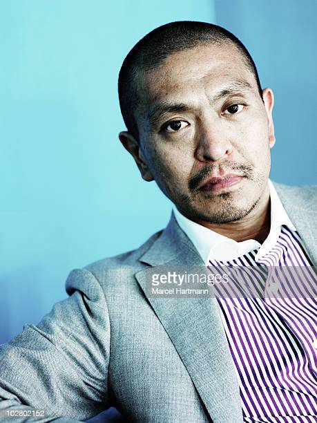 Actor Hitoshi Matsumoto poses for a portrait shoot in Cannes, France.