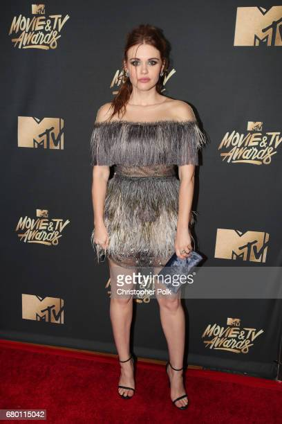 Actor Holland Roden attends the 2017 MTV Movie And TV Awards at The Shrine Auditorium on May 7 2017 in Los Angeles California