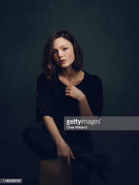 Actor Holliday Grainger is photographed for Deadline on January 28 2019 in Park City United States