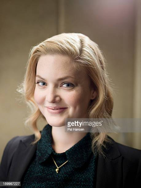 Actor Holliday Grainger is photographed for the Sunday Times on September 19 2012 in London England