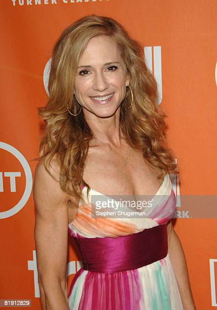 Actor Holly Hunter attends the 2008 Summer TCA Tour Turner Party at the Beverly Hilton Hotel on July 11 2008 in Beverly Hills California