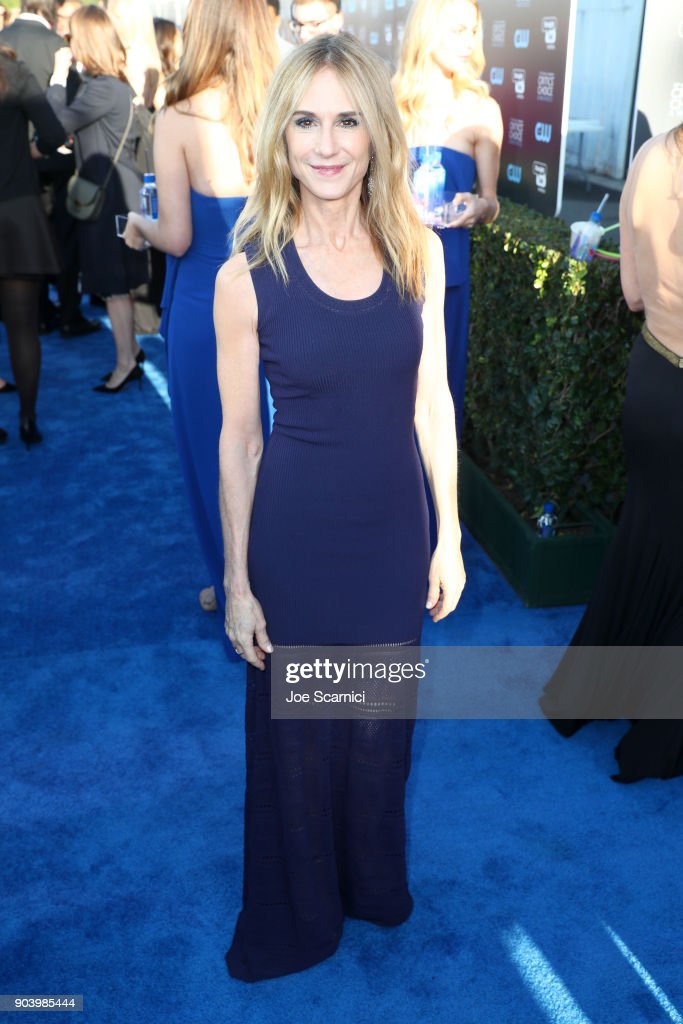 Actor Holly Hunter attends the 23rd Annual Critics' Choice Awards on January 11, 2018 in Santa Monica, California.