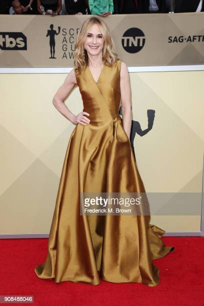 Actor Holly Hunter attends the 24th Annual Screen Actors Guild Awards at The Shrine Auditorium on January 21 2018 in Los Angeles California 27522_017
