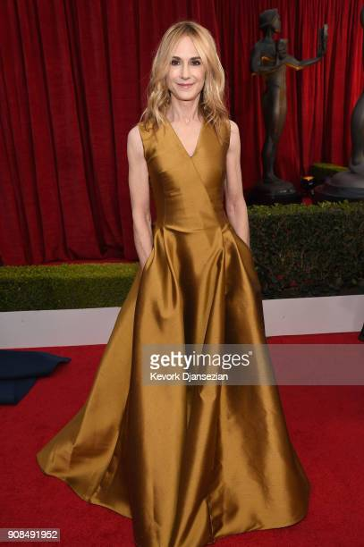 Actor Holly Hunter attends the 24th Annual Screen Actors Guild Awards at The Shrine Auditorium on January 21 2018 in Los Angeles California
