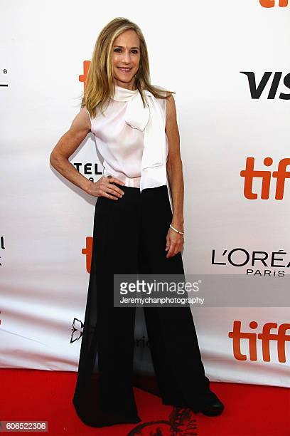 Actor Holly Hunter attends the Strange Weather premiere held at Roy Thomson Hall during the Toronto International Film Festival on September 16 2016...