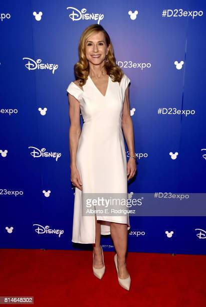 Actor Holly Hunter of INCREDIBLES 2 took part today in the Walt Disney Studios animation presentation at Disney's D23 EXPO 2017 in Anaheim Calif...