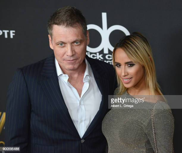 Actor Holt McCallany and guest arrive for the 21st Annual Hollywood Film Awards held at The Beverly Hilton Hotel on November 5 2017 in Beverly Hills...