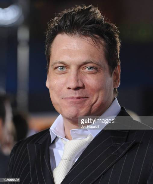 Actor Holt McCallany arrives at the Los Angeles Premiere 'I Am Number Four' at Mann's Village Theatre on February 9 2011 in Westwood California