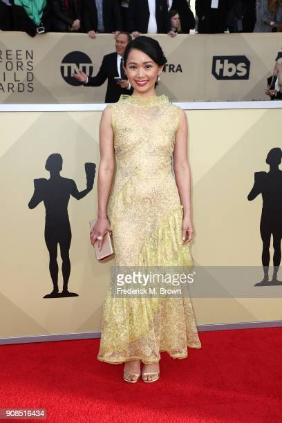 Actor Hong Chau attends the 24th Annual Screen Actors Guild Awards at The Shrine Auditorium on January 21 2018 in Los Angeles California 27522_017