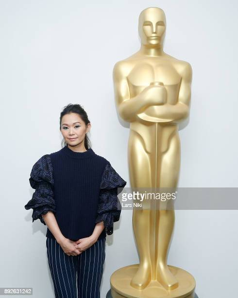 Actor Hong Chau attends The Academy of Motion Picture Arts Sciences Official Academy Screening of Downsizing at the MOMA Celeste Bartos Theater on...