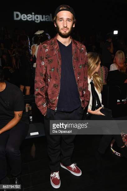 Actor Hopper Jack Penn attends Desigual fashion show during New York Fashion Week The Shows at Gallery 1 Skylight Clarkson Sq on September 7 2017 in...