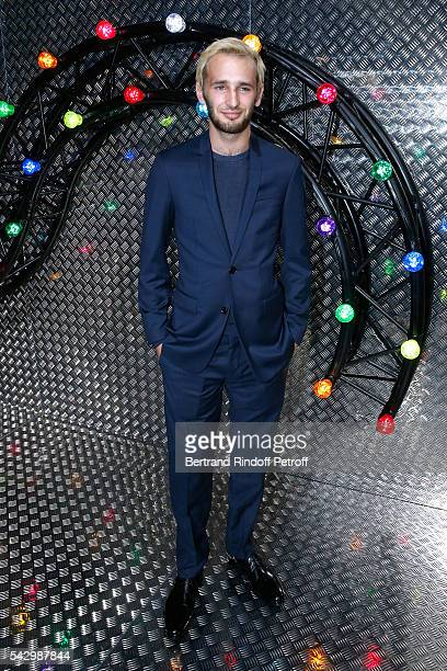 Actor Hopper Jack Penn attends the Dior Homme Menswear Spring/Summer 2017 show as part of Paris Fashion Week on June 25 2016 in Paris France