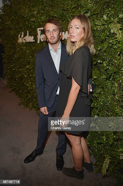 Actor Hopper Penn and Uma Von Wittkamp attend as Ferragamo Celebrates 100 Years in Hollywood at the newly unveiled Ferragamo boutique on September 9...
