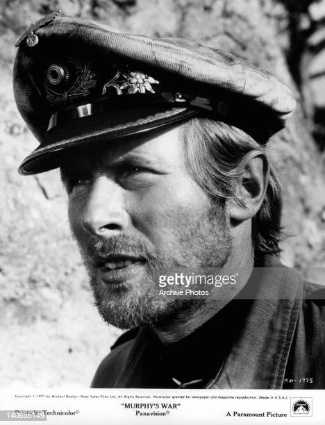 Actor Horst Janson as a German UBoat caption in a scene from the film 'Murphy's War' 1971