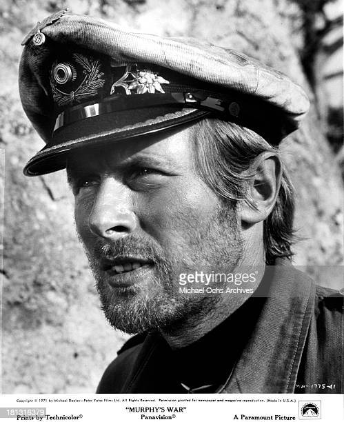 Actor Horst Janson on the set of the Paramount Pictures movie Murphy's War in 1971