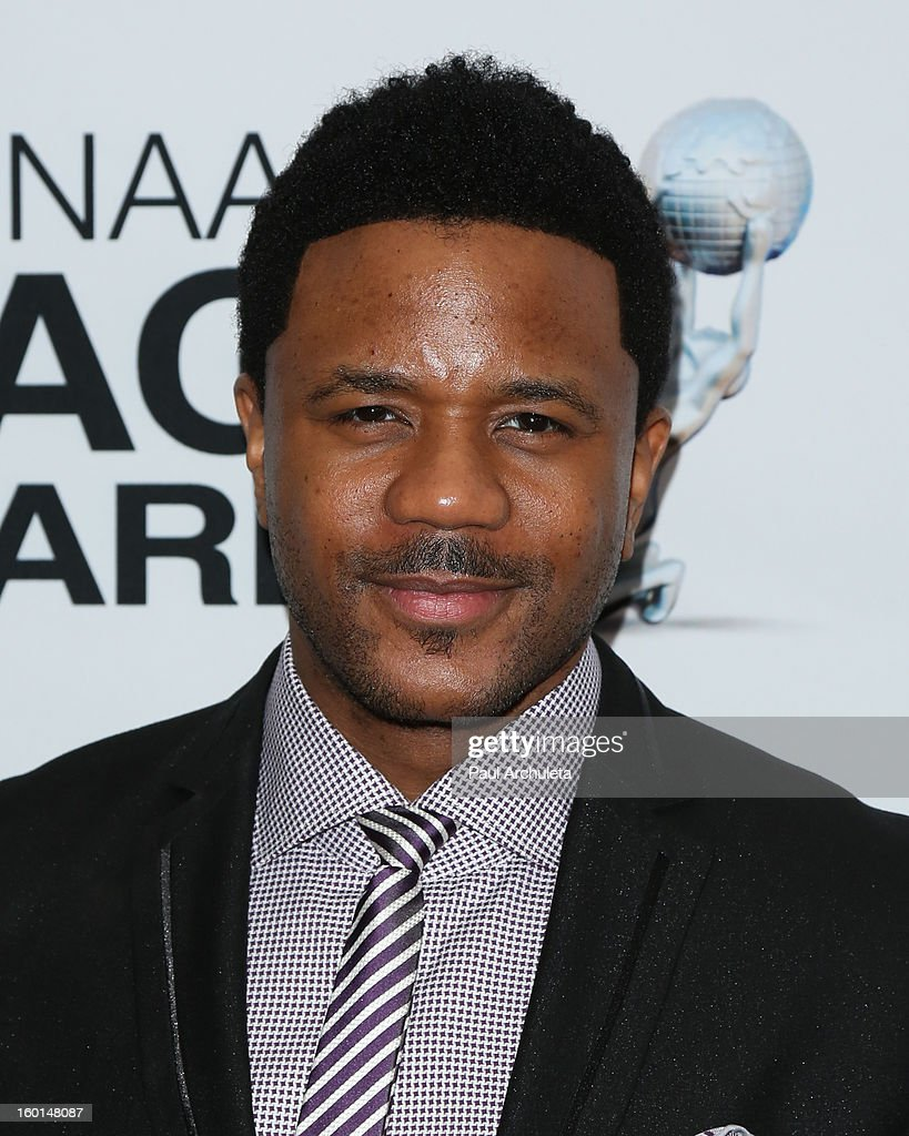 Actor Hosea Chanchez attends the 44th NAACP Image Awards nominee's luncheon on January 26, 2013 in Beverly Hills, California.