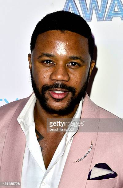 Actor Hosea Chanchez attends the BET AWARDS '14 post show at Nokia Theatre LA LIVE on June 29 2014 in Los Angeles California