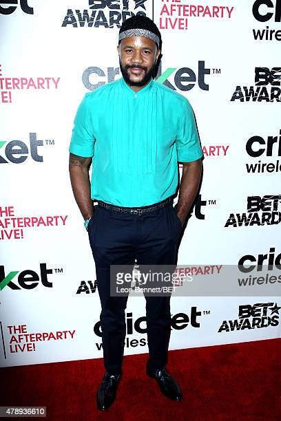 Actor Hosea Chanchez attends the Cricket green lounge during the 2015 BET Awards at the Microsoft Theater on June 28 2015 in Los Angeles California