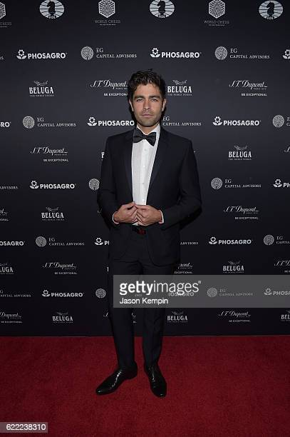 Actor host Adrian Grenier attends 2016 Gala Opening for World Chess Championship at The Plaza Hotel on November 10 2016 in New York City
