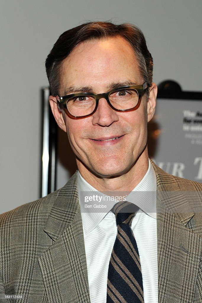 Actor Howard McGillin attends 'Our Town' Benefit Performance at the Gerald W. Lynch Theatre on March 4, 2013 in New York City.
