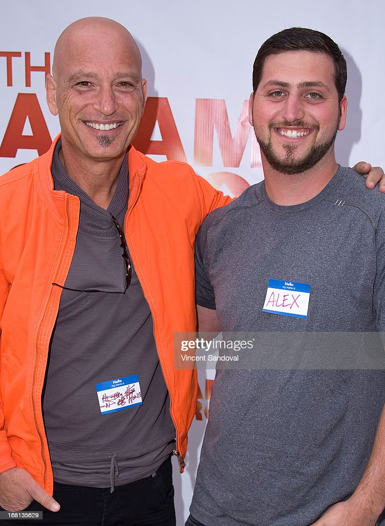 Actor Howie Mandel and son Alex Mandel attend the Cinco De Mangria party benefiting Children's Hospital Los Angeles on May 5, 2013 in Malibu, California.