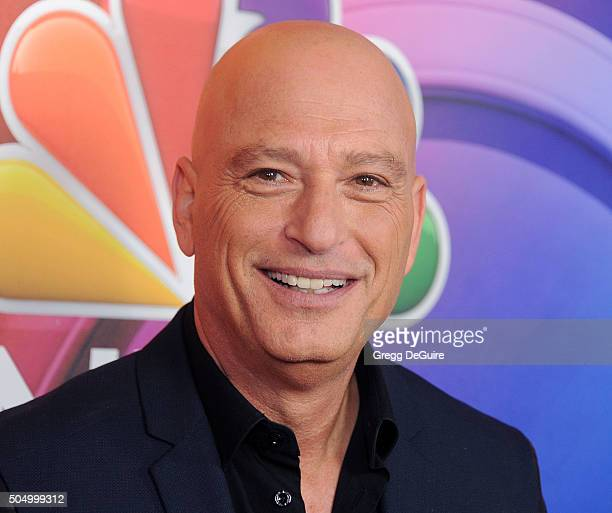 Actor Howie Mandel arrives at the 2016 NBCUniversal Winter TCA Press Tour at Langham Hotel on January 13 2016 in Pasadena California