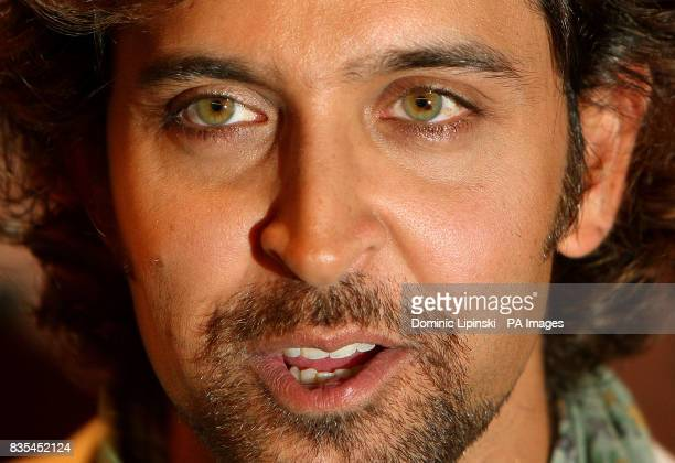 Actor Hrithik Roshan star of the film Kites attends a photcall at the Majestic Hotel in Cannes France as part of the 62nd annual Cannes Film Festival