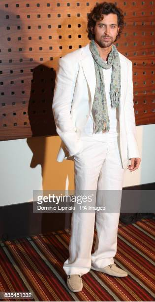 Actor Hrithik Roshan star of the film Kites attends a photocall at the Majestic Hotel in Cannes France as part of the 62nd annual Cannes Film Festival