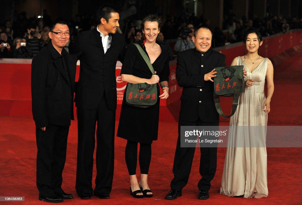 The Back - Premiere: The 5th International Rome Film Festival : News Photo