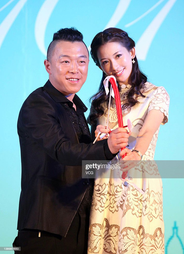 Actor Huang Bo And Actress Chiling Lin Attend 101st Marriage Proposal Picture Id138987650