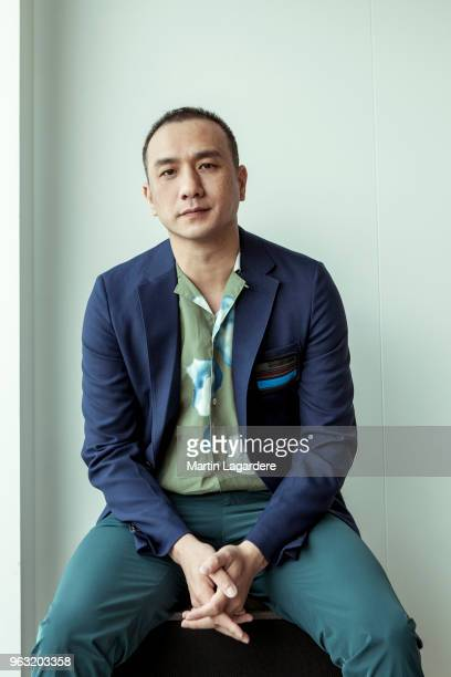 Actor Huang Jue is photographed for Self Assignment on May 2018 in Cannes France