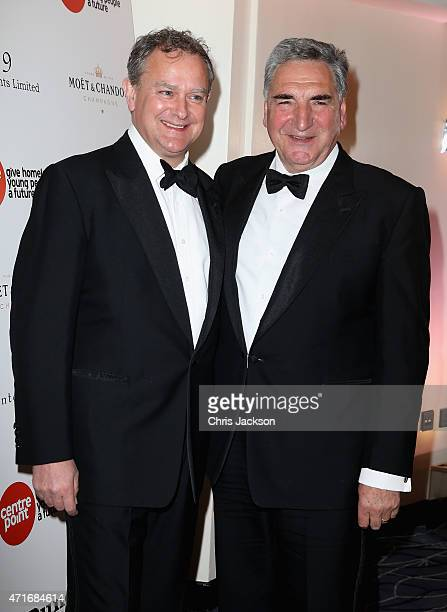 Actor Hugh Bonneville and Actor Jim Carter attend The Downton Abbey Ball at The Savoy Hotel on April 30 2015 in London England