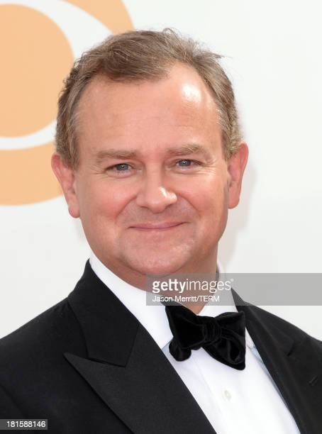 Actor Hugh Bonneville arrives at the 65th Annual Primetime Emmy Awards held at Nokia Theatre LA Live on September 22 2013 in Los Angeles California