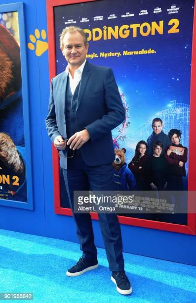 Actor Hugh Bonneville arrives for the premiere of Warner Bros Pictures' 'Paddington 2' held at Regency Village Theatre on January 6 2018 in Westwood...
