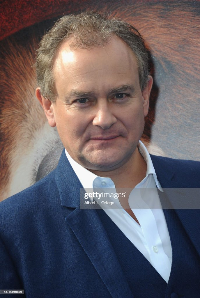 Actor Hugh Bonneville arrives for the premiere of Warner Bros. Pictures' 'Paddington 2' held at Regency Village Theatre on January 6, 2018 in Westwood, California.