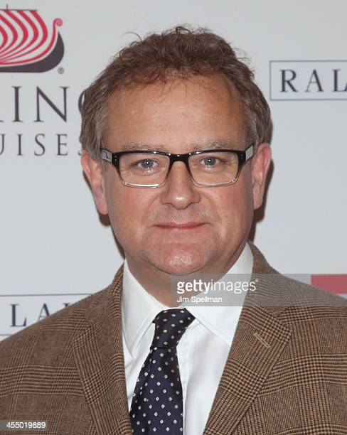 Actor Hugh Bonneville attend 'Downton Abbey' Season Four cast photo call at Millenium Hotel on December 10 2013 in New York City