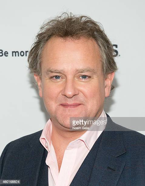 Actor Hugh Bonneville attends the 'Downton Abbey' season five photo call at Millenium Hotel on December 8 2014 in New York City