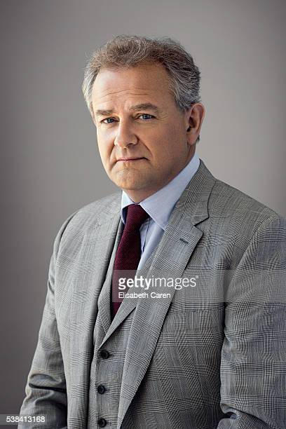 Actor Hugh Bonneville is photographed for Emmy Magazine on December 15 2015 in Los Angeles California Photo by Elisabeth Caren/Contour by Getty Images