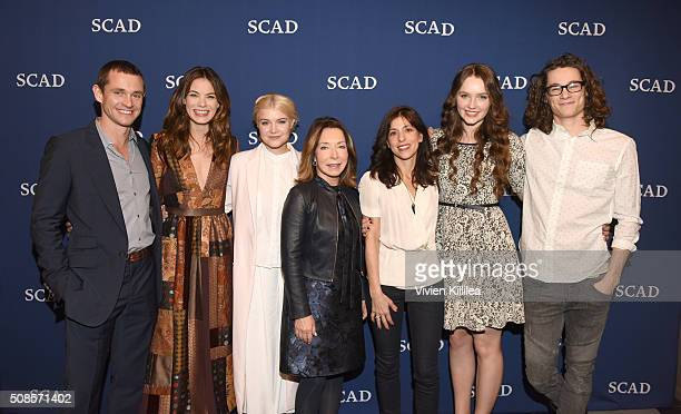 Actor Hugh Dancy actress Michelle Monaghan actress Sarah Jones SCAD President and Founder Paula Wallace Executive Producer Jessica Goldberg actress...