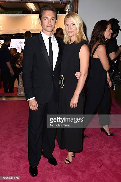 Actor Hugh Dancy and actress Claire Danes attends the 2016 CFDA Fashion Awards at the Hammerstein Ballroom on June 6 2016 in New York City