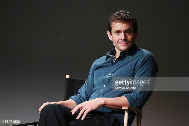Actor Hugh Dancy attends Apple Store Soho Presents Hannibal at Apple Store Soho on June 9 2015 in New York City