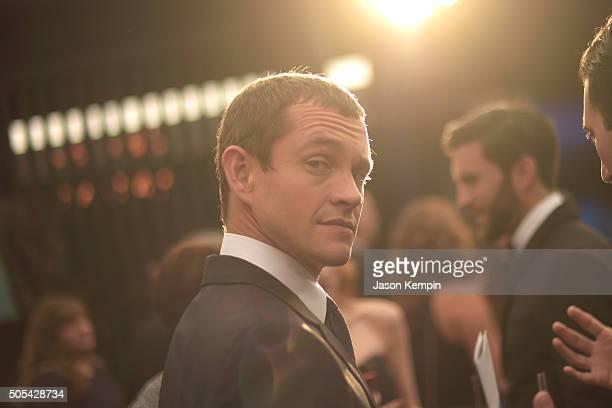 Actor Hugh Dancy attends the 21st Annual Critics' Choice Awards at Barker Hangar on January 17 2016 in Santa Monica California