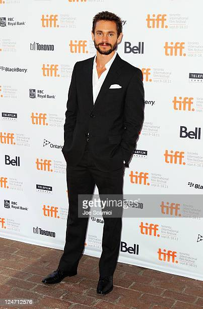 Actor Hugh Dancy attends the Martha Marcy May Marlene premiere at Ryerson Theatre during the 2011 Toronto International Film Festival on September 11...