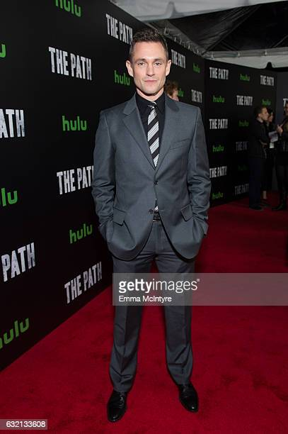 Actor Hugh Dancy attends the premiere of Hulu's 'The Path' Season 2 at Sundance Sunset Cinema on January 19 2017 in Los Angeles California