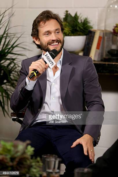 Actor Hugh Dancy attends the Variety Studio powered by Samsung Galaxy at Palihouse on May 29 2014 in West Hollywood California